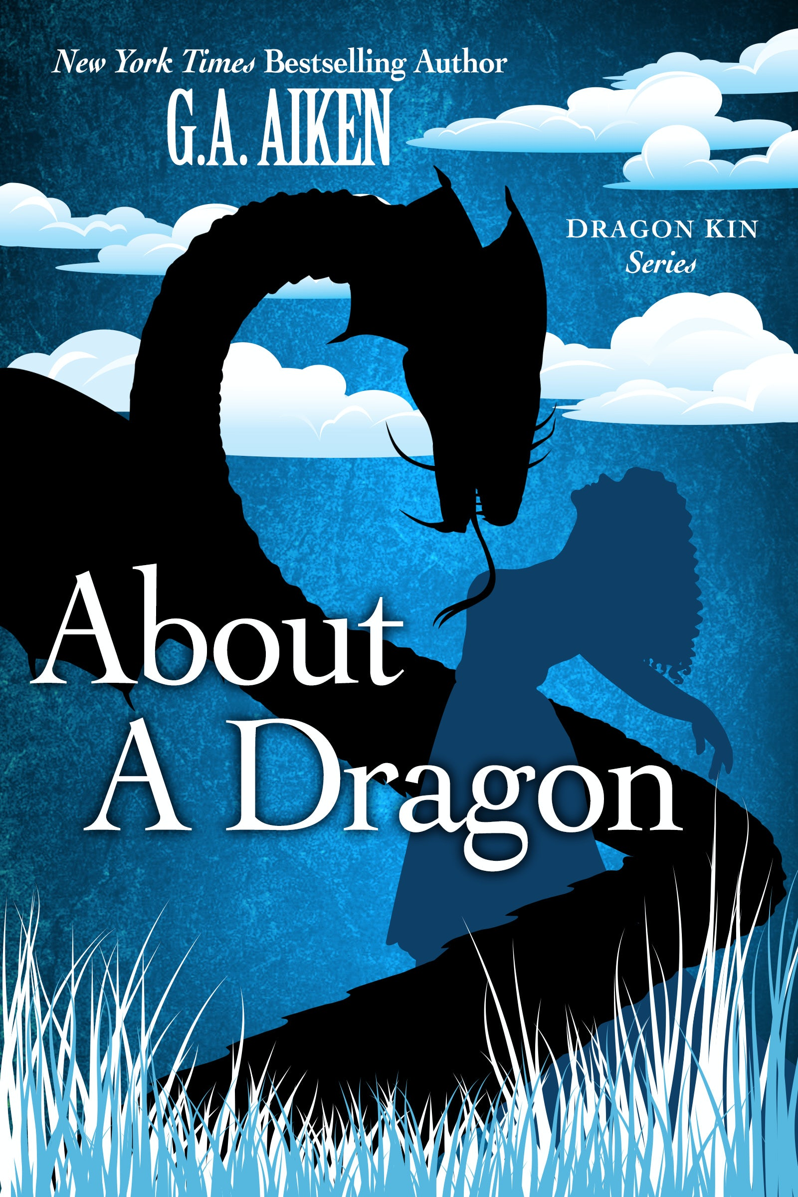Book Cover for About A Dragon - Dragon Kin 2