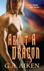 Book Cover for About a Dragon