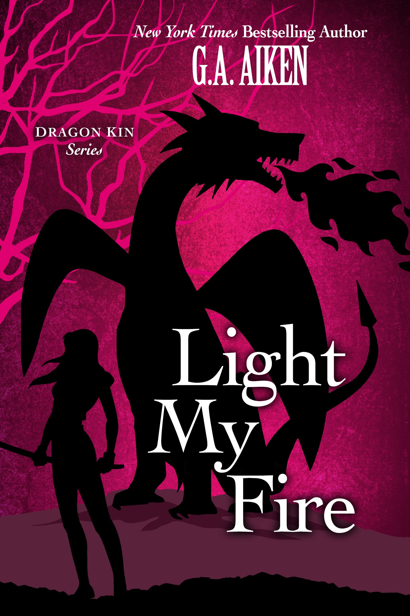 Book Cover for Light My Fire Dragon Kin 7