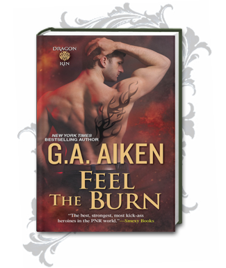 Book Cover for Feel the Burn