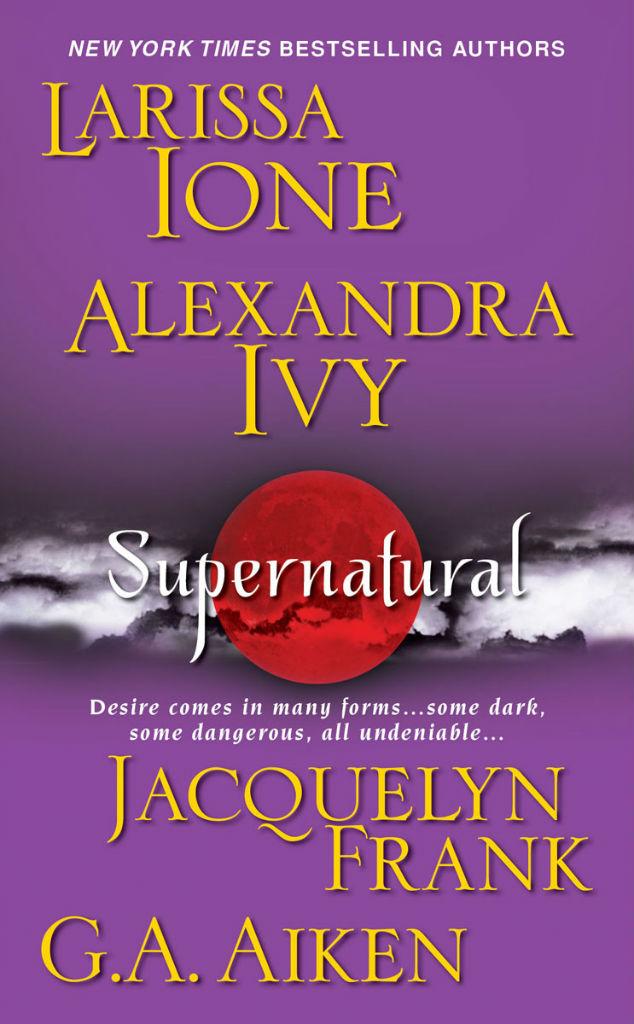 Book Cover for Supernatural Anthology